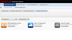 apex 4.2 packaged applications